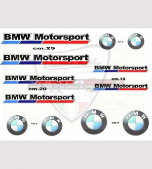 Set de pegatinas especiales - BMW Motorsport