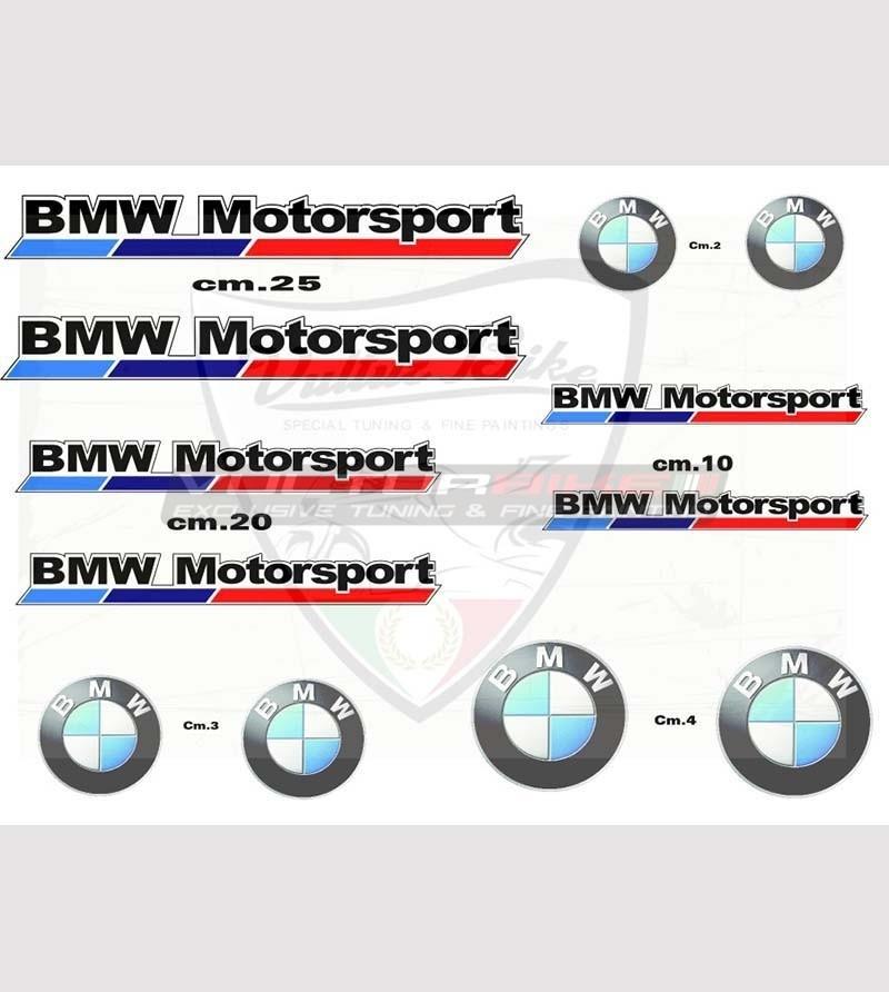 Set Adesivi Speciali - BMW Motorsport