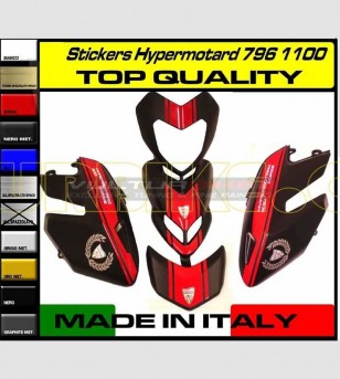 Stickers' kit EVO - Ducati Hypermotard 796/1100