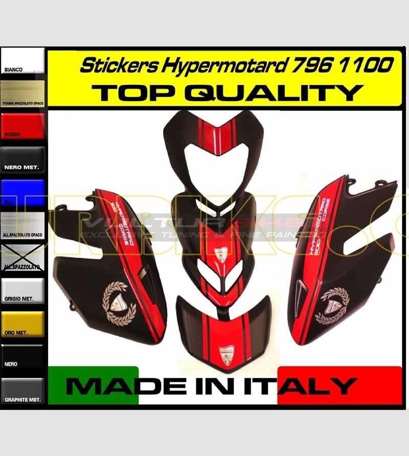 Kit Adesivi EVO - Ducati Hypermotard 796/1100
