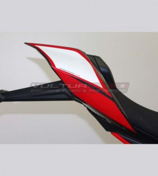 Red White stickers for tail - Ducati Panigale V4 / V4R