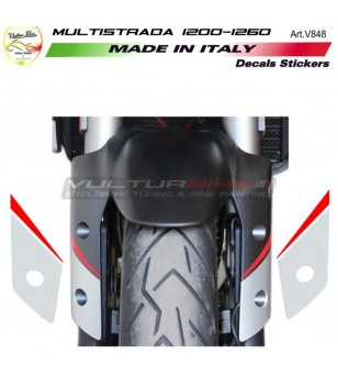 Stickers for front fender -...