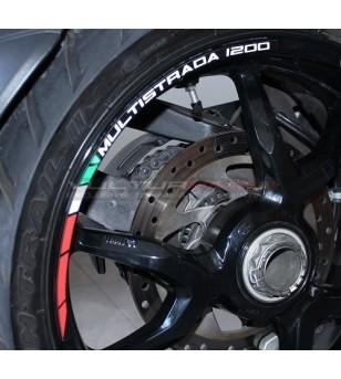 Adhesive profiles for wheels - Ducati Multistrada 1200 / 1260
