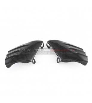 Couple of carbon coolers for brake calipers - Ducati