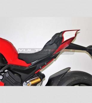 Pegatinas blancas rojas para coleta - Ducati Panigale V4 / V4R