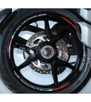 Kit Profili Adesivi Per Ruote - Ducati Multistrada 1200 / 1200 S / 1260 / 1260 S
