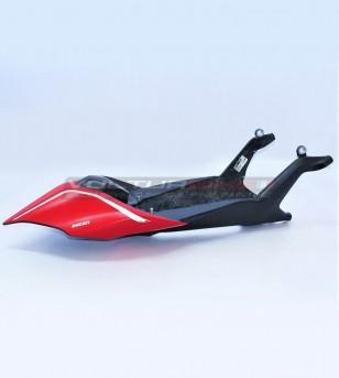 Codone monoscocca in carbonio design personalizzato - Ducati Panigale V4 / V4R / V4 2020