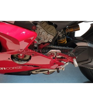 Clavija de color para soporte lateral - Ducati Panigale V4 / V4S / V4R