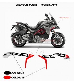 Stickers for side fairings Grand Tour Design - Ducati Multistrada 1260 S