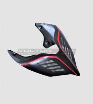 Cola de carbono oscuro - Ducati Panigale V2 2020 / Streetfighter V4
