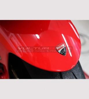 Adesivo resinato scudetto Ducati universale