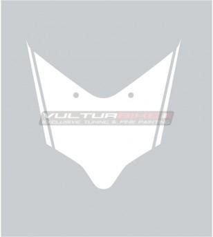 Customizable front fairing's sticker - Ducati Panigale V2 2020