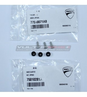 Special screw with elastic nut for plexi - All superbike models