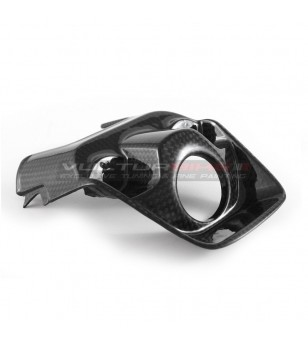 Carbon key block cover - Ducati Supersport 939