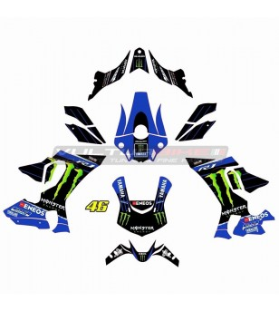 Moto GP Replik Aufkleber komplett Kit Monster - Yamaha R1 15/19