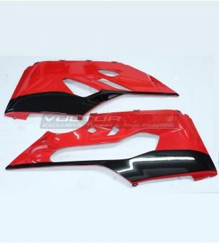 Autocollants carénages pièces inférieures Look R 1299 - Ducati Panigale 899/1199/959/1299