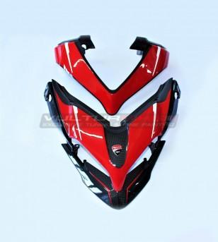 Carbon Front fairing and airxbox tip exclusive design - Ducati Multistrada 1200 / 1260 / 950 / ENDURO