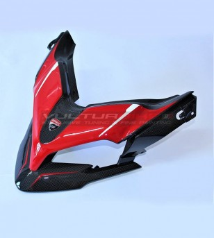 Exclusivo diseño de domo de carbono y dedo del pie - Ducati Multistrada 1200 / 1260 / 950 / ENDURO