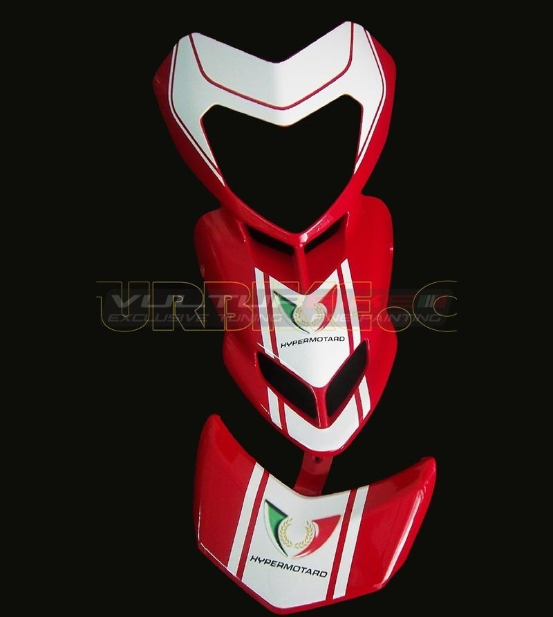 Kit stickers for front fairing and spoiler - Ducati Hypermotard 796/1100