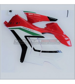 Upper fairings Ducati Panigale V4 2020 Restyling special version 2018/19