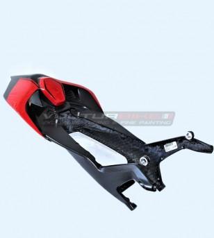 Carbon fiber monocoque seat mixed design - Ducati Panigale V4 / V4R / V4 2020