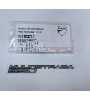 ORIGINAL front fairing's sticker left side - Ducati Multistrada 950