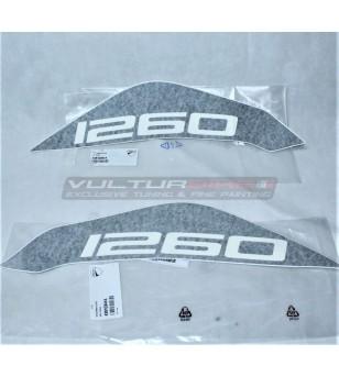 Par de calcomanías de tanque originales - Ducati Multistrada 1260 ENDURO