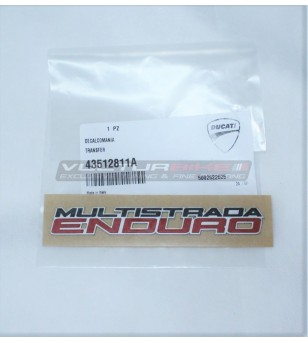 ORIGINAL decal sticker Ducati Multistrada Enduro 1200 / 1260
