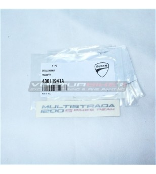 ORIGINAL decal sticker - Ducati Multistrada 1200 Pikes Peak 2014
