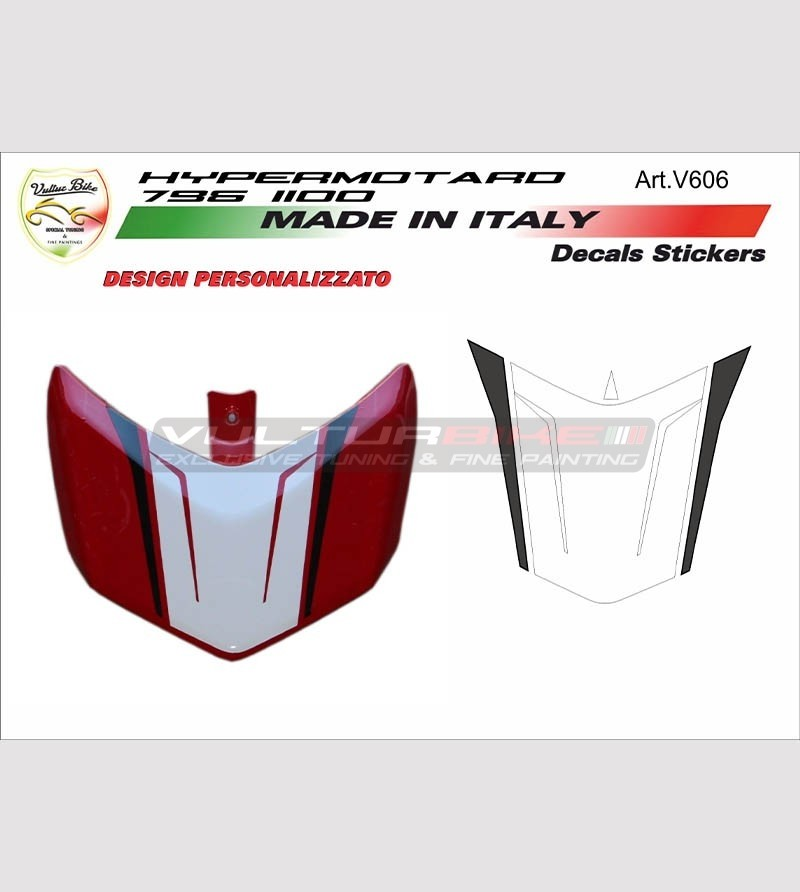 Kit adesivi per spoilerino Ducati Hypermotard 796/1100