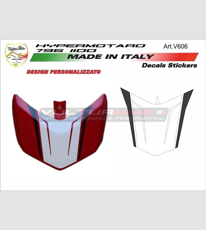 Stickers' kit for Ducati Hypermotard 796/1100's spoiler