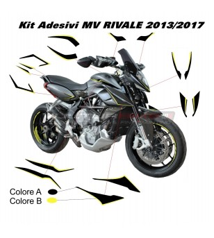 Complete stickers' kit - MV RIVALE 2013/2017