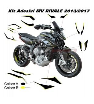 Kit adesivi completo - MV RIVALE 2013/2017