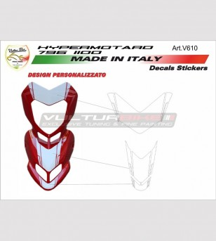 Front fairing stickers' kit...