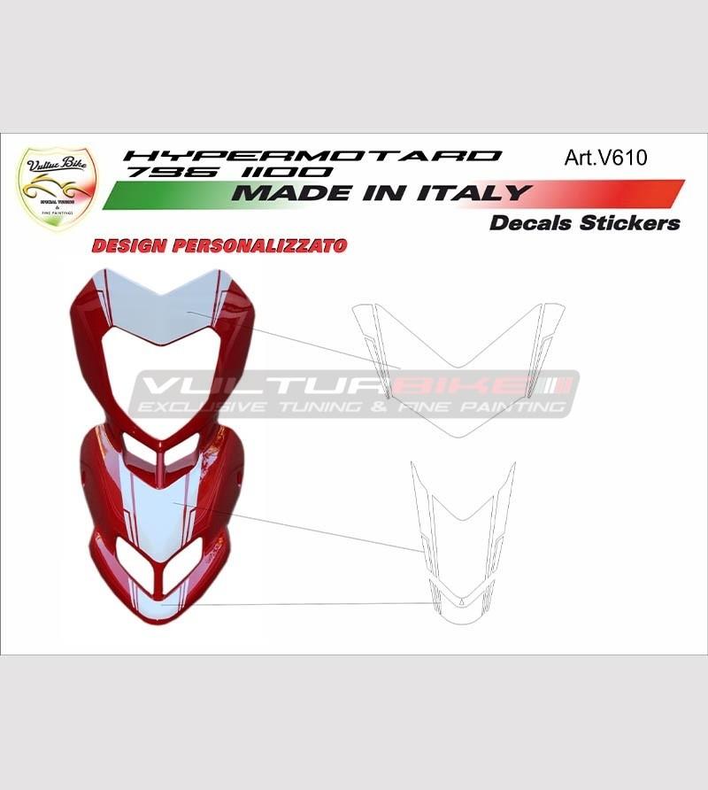 Kit adesivi per cupolino Ducati Hypermotard 796/1100