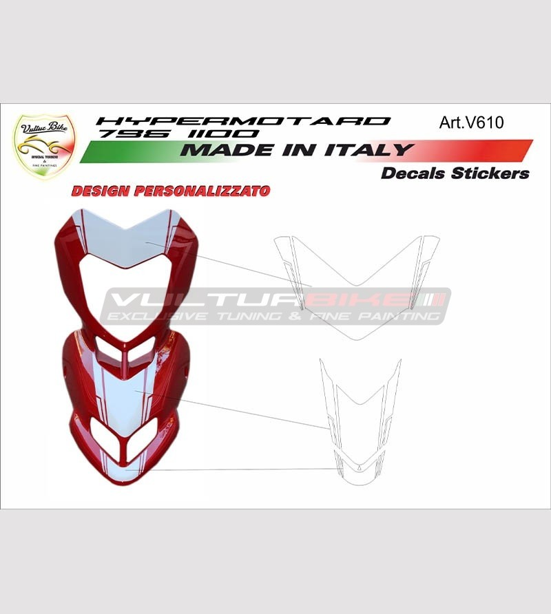 Kit adhesivo de domo Ducati Hypermotard 796/1100