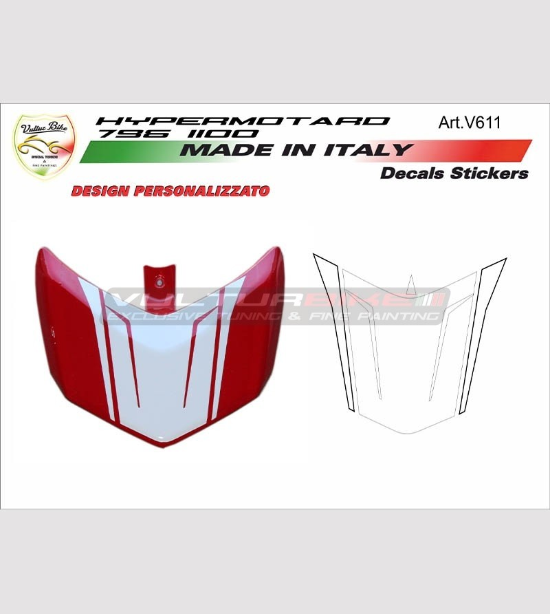 Calcomanía de spoiler Ducati Hypermotard 796/1100