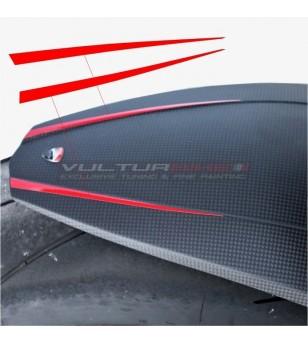 Rear mudguard stickers -...