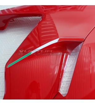 Resin italian flags for side panels - Ducati Supersport 939