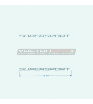 Adesivi 13 cm per carene laterali - Ducati Supersport 939