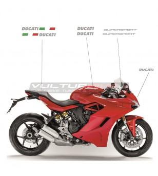 Kit adesivi per moto rossa - Ducati Supersport 939