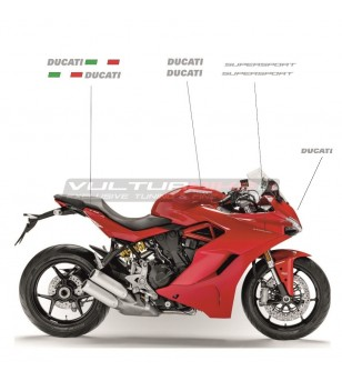Kit de pegatinas para moto roja - Ducati Supersport 939