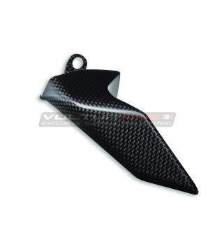 Set protezione inferiore catena originale in carbonio - Ducati Panigale V4 / Streetfighter V4