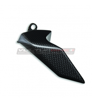 Juego de protección de fondo de cadena de carbono original - Ducati Panigale V4 / Streetfighter V4