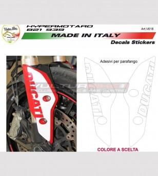 Kit adesivi per copristeli Ducati Hypermotard 821/939