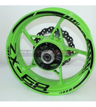 Customizable wheels stickers - Kawasaki ZX6R