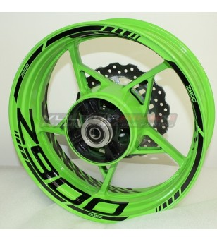 Adesivi per ruote personalizzabili - Kawasaki Z900