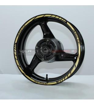 Adesivi per ruote Ninja color oro - Kawasaki