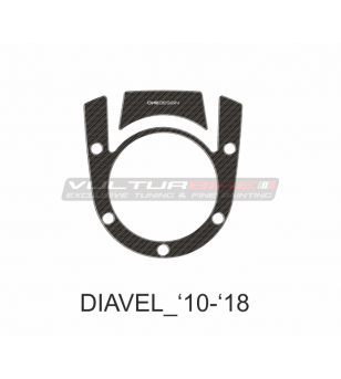 Protection for tank and ignition key area - DUCATI DIAVEL 2010 / 2018