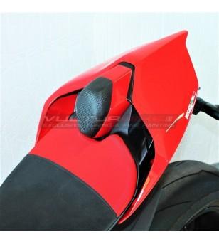 Búfer de sillín alargado rojo negro - Ducati Panigale V4 2018-2020 / V2 2020 / Streetfighter V4